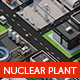 Nuclear plant station - 3DOcean Item for Sale