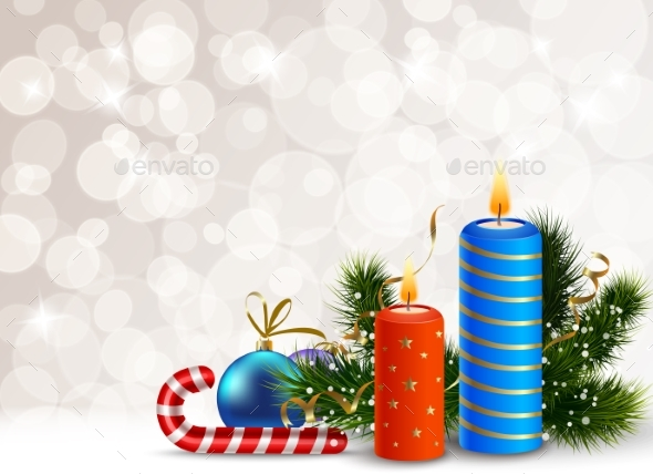 Decorative Christmas Background - Nature Conceptual