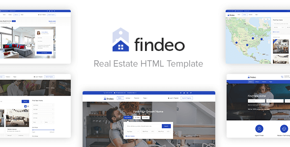 Findeo – Real Estate HTML Template