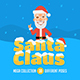 Santa Claus Mascot Pack - GraphicRiver Item for Sale