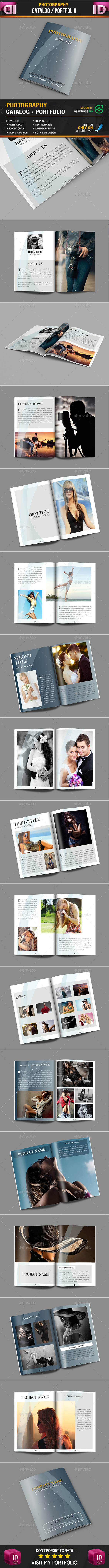 Photography Portfolio - Brochures Print Templates