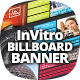 InVitro Billboard Banner Template - GraphicRiver Item for Sale