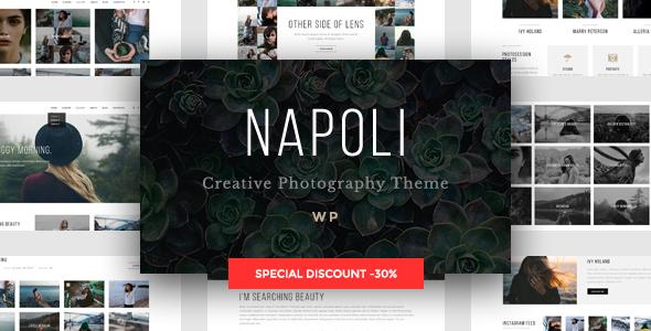 Napoli – Modern Photography Portfolio Theme
