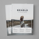 Be Magazine - GraphicRiver Item for Sale