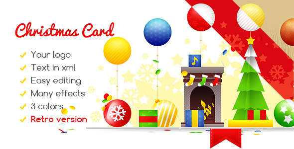 Christmas Card Gift Box - CodeCanyon Item for Sale