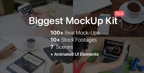 Biggest MockUp Kit // Digital Device Mockups 18599203
