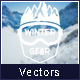 Winter Season Badges Logos - GraphicRiver Item for Sale