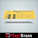 Event Ticket Mockup Design - GraphicRiver Item for Sale