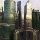 Metropolis. Great Big Town. Aerial View of the Capital of Russia - Moscow. Moscow-City. - VideoHive Item for Sale