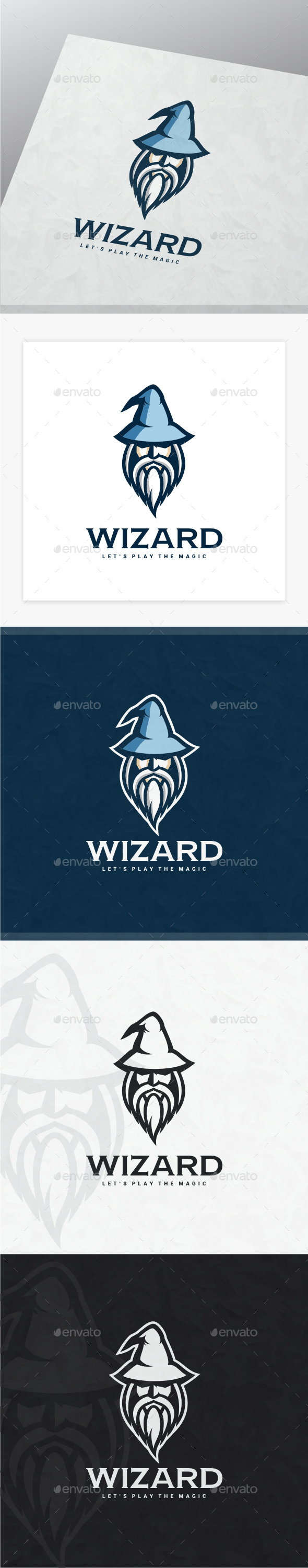 Wizard - Humans Logo Templates