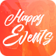 Happy Events - Holiday, Event Agency & Planner Events WordPress Theme Nulled
