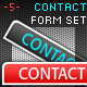 Contact Form Set - GraphicRiver Item for Sale