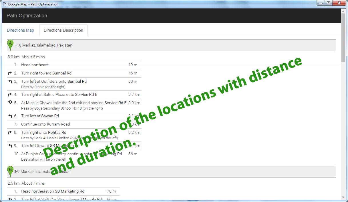 Google Map Path Optimization by NajmulIqbal15 | CodeCanyon on