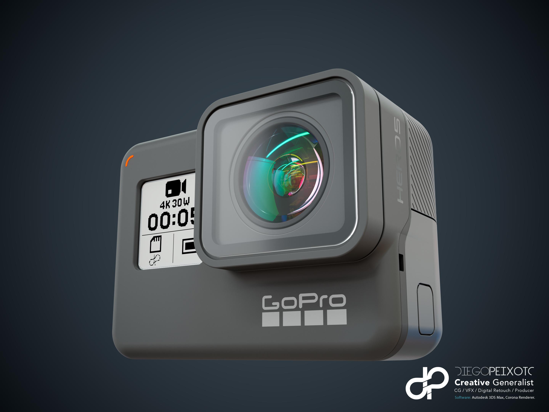 GoPro Hero 5 Black by CrazyPXT   3DOcean