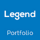 Legend Personal Portfolio PSD Template - ThemeForest Item for Sale