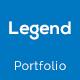 Legend Personal Portfolio PSD Template