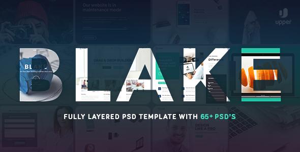 Blake | Multi-Concept PSD Template