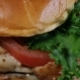 Fresh Appetizing Hamburger Rotating Background. - VideoHive Item for Sale