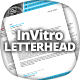 InVitro Letterhead Template - GraphicRiver Item for Sale