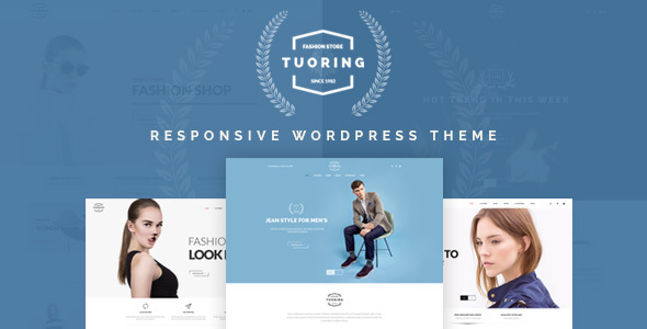 Tuoring – Visual Theme For Fashion Store