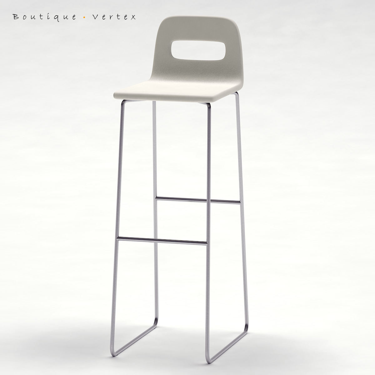 Kitchen Stool 01 - 3DOcean Item for Sale
