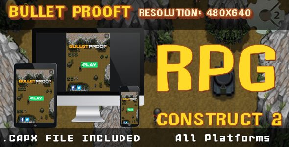 Bullet Prooft – RPG – (.CAPX) - CodeCanyon Item for Sale