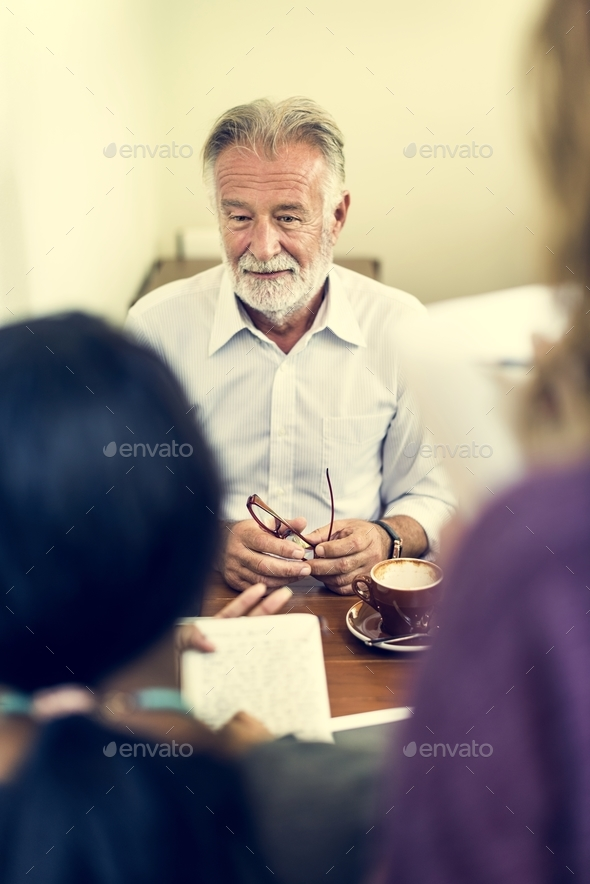 Friends Working Discussion Meeting Sharing Ideas Concept - Stock Photo - Images