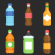 Bottle & Beverage Icon set - GraphicRiver Item for Sale