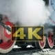 Locomotive Under Steam on Siding - VideoHive Item for Sale