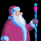 Santa Claus Blowing Snow - VideoHive Item for Sale