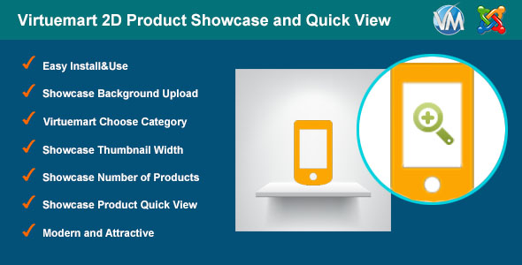 Virtuemart 2D Product Showcase and Quick View - CodeCanyon Item for Sale