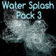 Water Splash Pack 3 - VideoHive Item for Sale