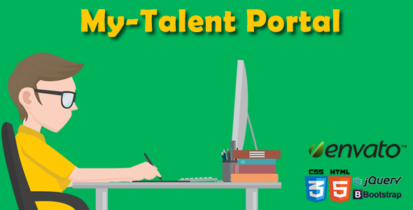 MyTalent Portal - CodeCanyon Item for Sale