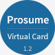 Prosume - Resume / CV & Virtual Business Card (vCard) - ThemeForest Item for Sale