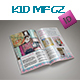 Xmas Kid Magazine Template - GraphicRiver Item for Sale