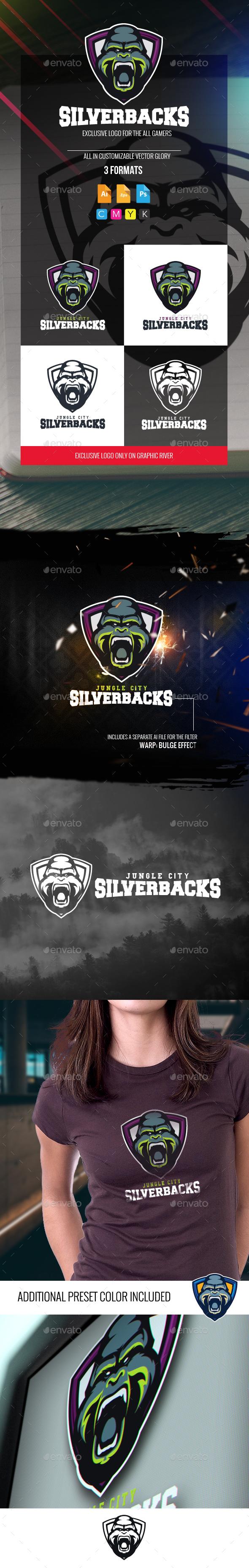 Silverback Logo - Animals Logo Templates