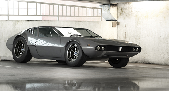 DeTomaso Mangusta by A_Eternal | 3DOcean