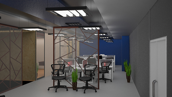 3d office design4slash   3docean