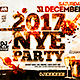 NYE Flyer Horizontal Template - GraphicRiver Item for Sale