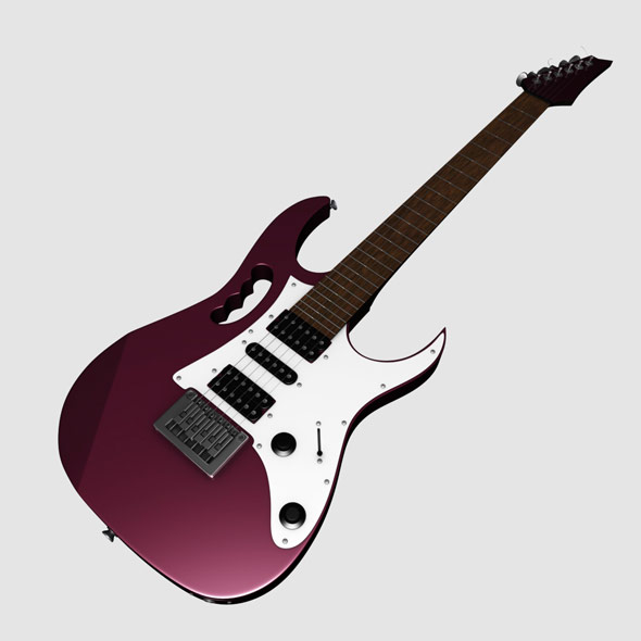 Guitar - 3DOcean Item for Sale