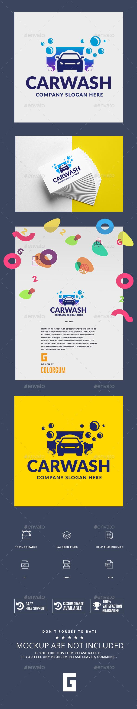 Car Wash Logo - Logo Templates