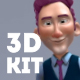 Corporative 3D Character Animation Kit - VideoHive Item for Sale