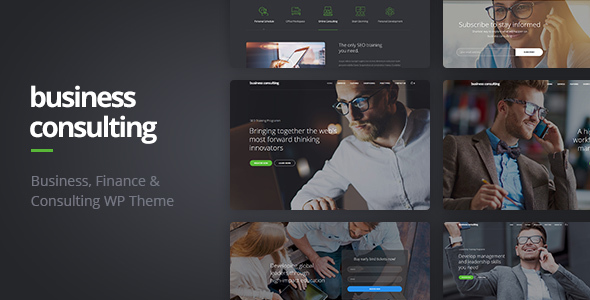 Business Consulting - Coaching, Business Training & Consulting WordPress Theme