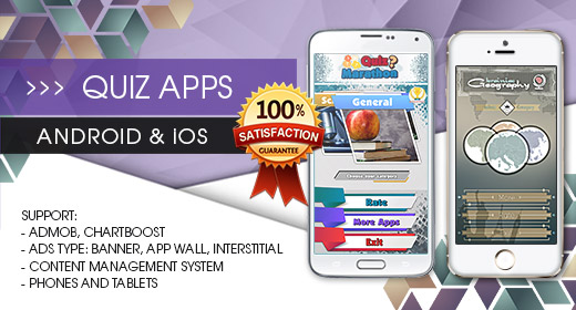 Quiz App Solution - Android and iOS