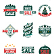 9 Christmas Sale Badge / Label - GraphicRiver Item for Sale
