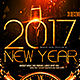 New Year Horizontal Flyer - GraphicRiver Item for Sale