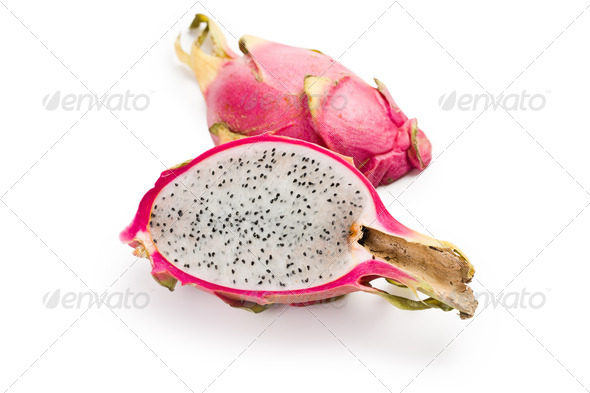 pitahaya , fresh fruit - Stock Photo - Images