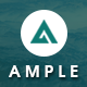 AMPLE - All In One App Landing Page - ThemeForest Item for Sale