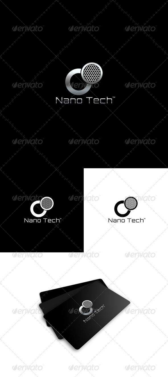 Nano Technology Logo - Vector Abstract