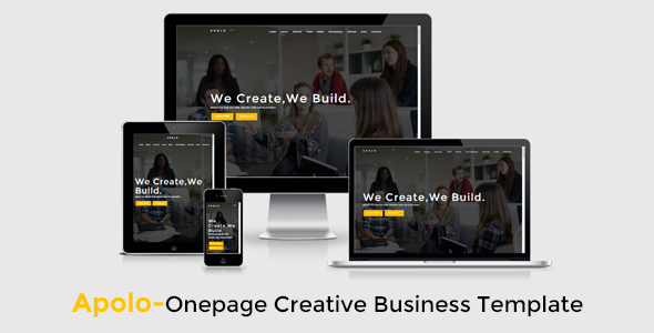 Apolo // Onepage Creative Business Template - Business Corporate